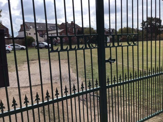 Name on gates