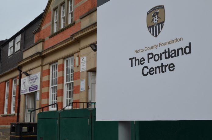 Notts County Foundation Portland Centre 2