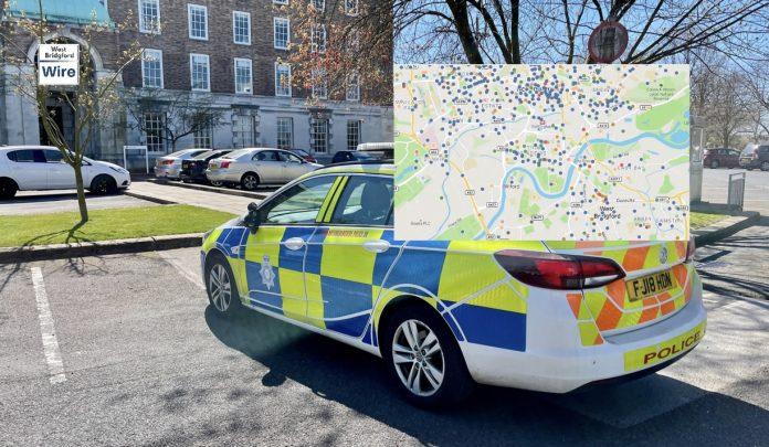 Nottinghamshire Crime Map April 2021
