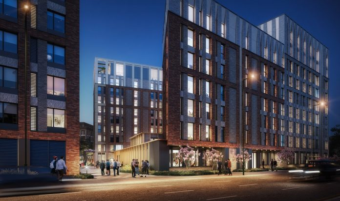 Plans for 702-bed student accommodation at Nottingham's new Island Quarter development
