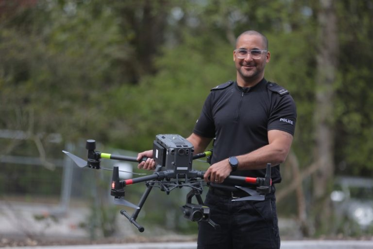 Video shows new state-of-the-art police drone in action over Nottinghamshire