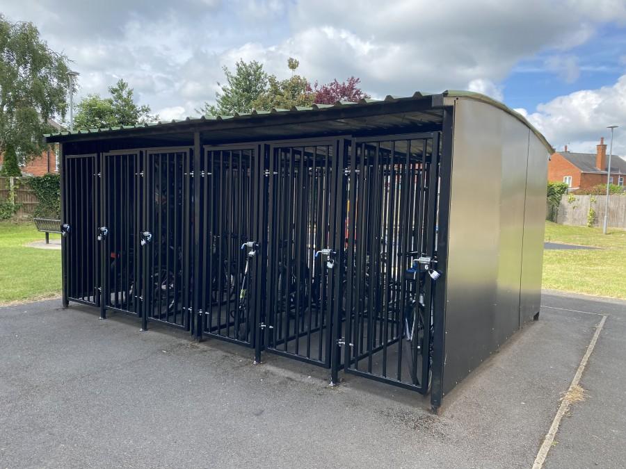 Chatham Court bike storage AFTER