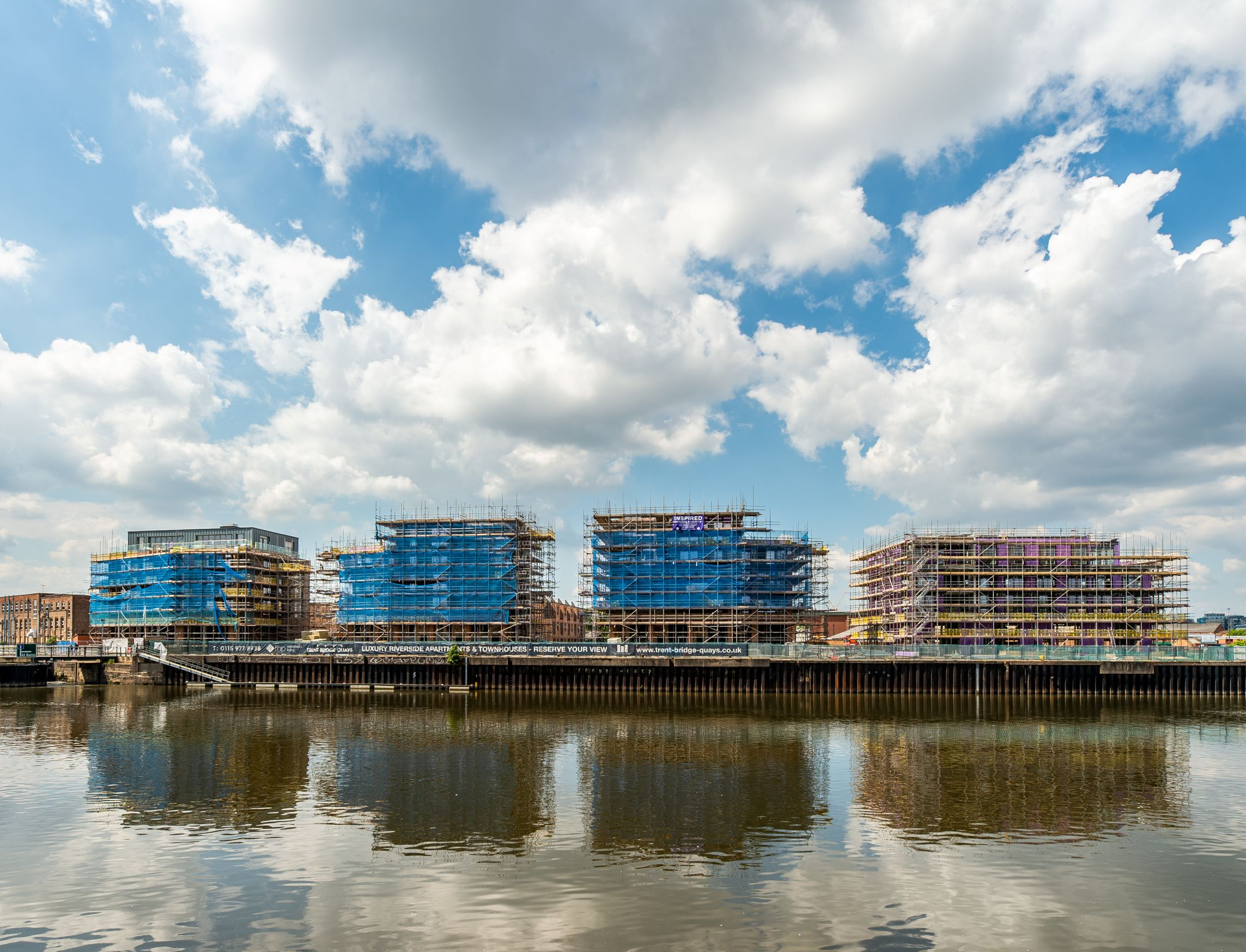 Elevate Trent Bridge Quays riverside