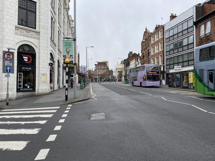 Upper Parliament Street Nottingham © westbridgfordwire.com
