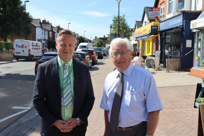 Rushcliffe Borough Councils section 151 officer and Deputy Chief Executive Pete Linfield and Cabinet Portfolio Holder Cllr Gordon Moore