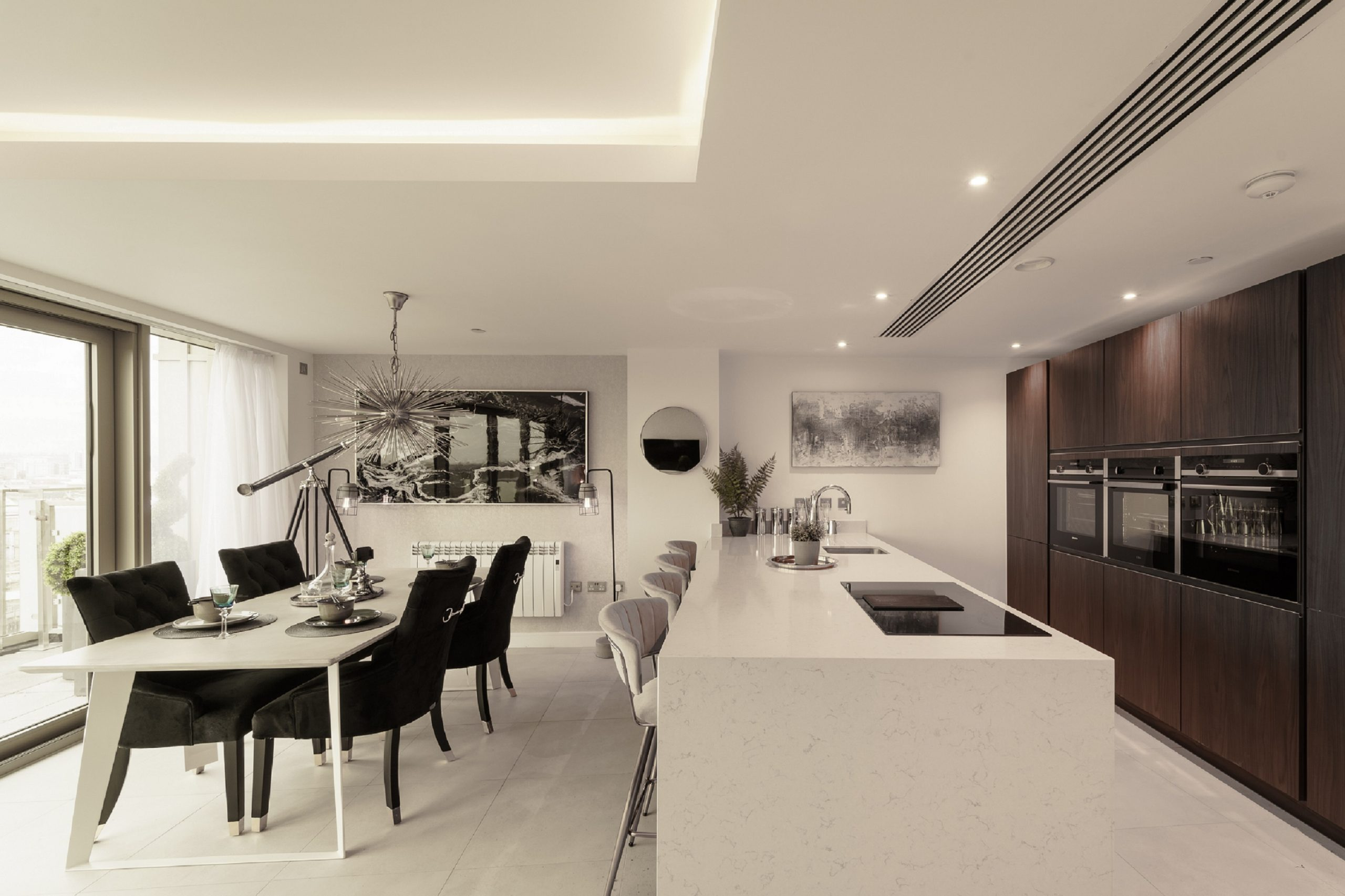 Waterside penthouse kitchen scaled