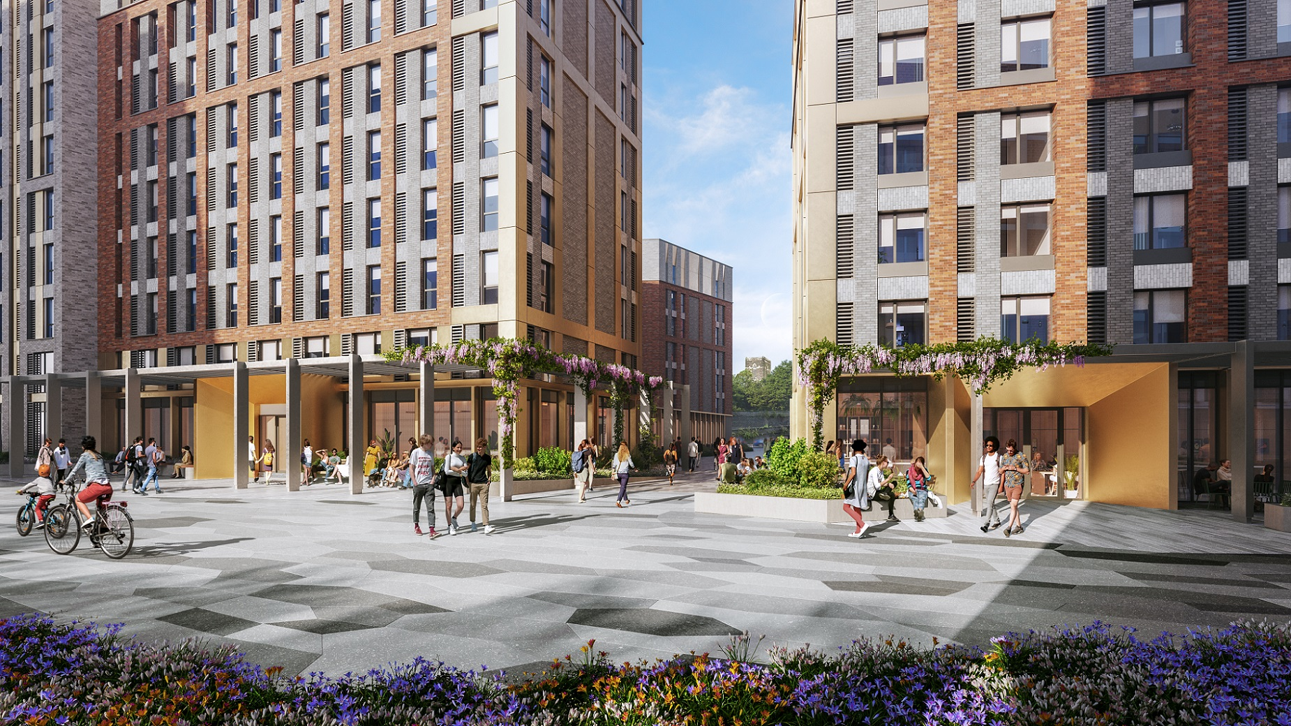 Conygar student living scheme will be beacon for Nottingham credit DAY Architectural
